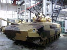 UkroBoronProm T-64 Infantry Fighting Vehicle prototype