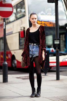 Tilda Lindstam's Street Style #modelsoffduty