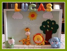 Quadrinho para o pequeno Lucas! by Feltronia by Bia Leira, via Flickr