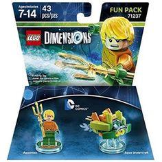 DC Aquaman Fun Pack - Lego Dimensions, Multicolor