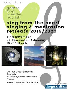 Creative wellbeing retreats and workshops in the heart of rural Limousin France. Meditation Retreat, Meditation Practices, Limousin, Holidays France, Vocal Coach, Workout At Work, Singing Lessons, Beautiful Voice