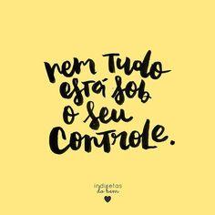 Sob o seu controle