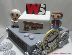 Back to the future wstaff party - Cake by Sc Sugar Art L'ingegnere nello Zucchero