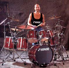 Steve Smith and Sonor drums