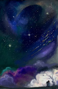 Watch the Stars with me by Guava-Pie on DeviantArt