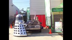 DOC BRAUN STAINLESS STEEL DANCING DALEK DELOREAN TIME MACHINE SHOW 3D HD