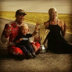 Harvick family celebrates their first championship