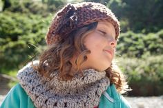 CHUNKY COWL Scarf Wrap Caplet Scarves, Fall Winter Fashion Cowl Scarf Circle Outfit, Crochet Knit Cowl Scarf Wrap Echarpe by MalasaFashion by MalasaFashion on Etsy