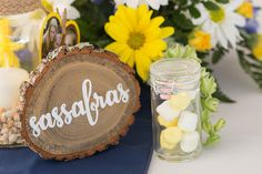 Rustic Wedding Table Markers Tree Table by SouthRanchCreative