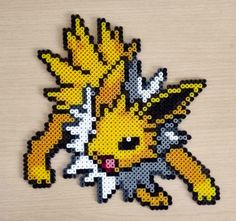 Jolteon - Pokemon hama beads by isaletheia