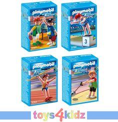 PLAYMOBIL® Olympia Hochleistungssportler 5197 - 5201 zum Auswählen * * NEU / OVP