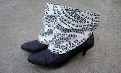 Recycled plastic bag boots | Recycled Crafts | Scoop.it