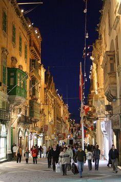 Valletta in the evening | Malta