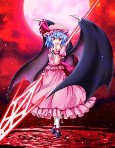 レミリアお嬢 Touhou - remilia scarlet
