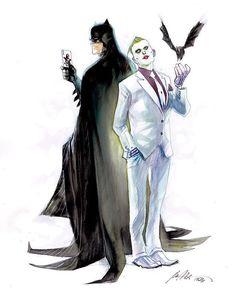 Batman and The Joker by Rafael Albuquerque *