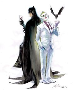 Batman and The Joker by Rafael Albuquerque *