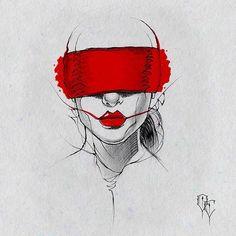 #Bdsm #tattooflash #tattoodesign #blackandgrey #ink #darkart #illustration #chile #red #scl