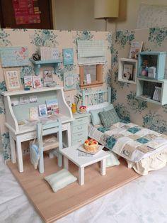 2014. Miniature Corner Dollhouse ♡ ♡