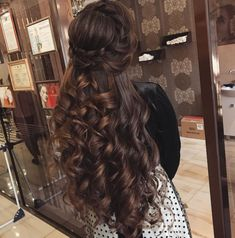 Best wavy hair tutorial short how to get ideas Quince Hairstyles, Pretty Hairstyles, Afro Hairstyles, Bride Hairstyles, Glasses Hairstyles, Beautiful Long Hair, Gorgeous Hair, Gorgeous Women, Peinado Updo