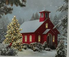 Are you looking for ideas for christmas aesthetic?Browse around this website for unique Christmas inspiration.May the season bring you peace. Christmas Scenes, Noel Christmas, Country Christmas, Christmas Pictures, Vintage Christmas, Christmas Truck, Winter Christmas, Old Country Churches, Christmas Aesthetic