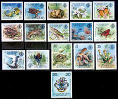 Stamps Seychelles Zil Eloigne Sesel 1980 Wildlife Set Fine Mint For Sale Take a Look