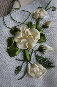 haft róża M.S