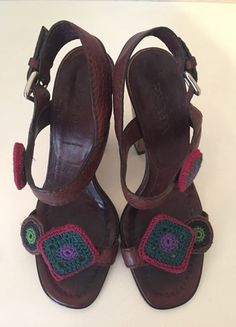 Kaufe meinen Artikel bei #Kleiderkreisel http://www.kleiderkreisel.de/damenschuhe/sandalen/135613068-prada-schuhe-sandalen-37-braun-leder-sandaletten-high-heels-sandals-brown