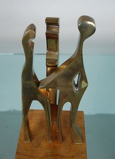 Arleen Eichengreen & Nancy Gensburg Bronze by MidCenturyMasters, $495.00