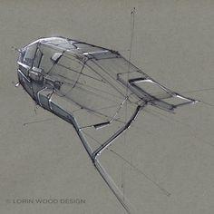 Woosh by Lorin Wood, via Behance