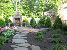 Backyard Transformation, The before: sink holes and limited space with no grass. The after: relaxing, beautiful and a haven for birds, butterflies and bees., Yards Design