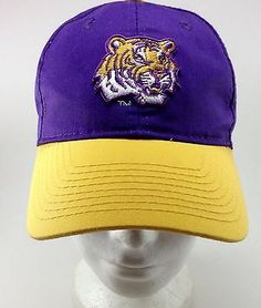 LSU Tigers SnapBack hat vintage NCAA Old School 257bb3cd1077