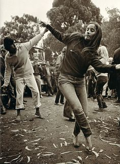 Summer of Love : Panhandle, Golden Gate Park, San Francisco (25/06/1967)