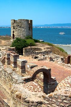 The old stone mill, Nessebar, Bulgaria on the Black Sea coast - a great place for a two centre holiday www.pamporovovillas.com