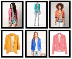 ¿De qué color te atreves a llevar un blazer? Blazers de colores  http://www.deli-cious.es/index.php/chaquetas/760-blazer-americana-topshop-amarillo