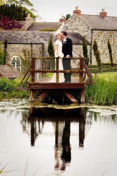 Bride and groom at Ballymagarvey Village Wedding Venues, Wedding Photos, Wedding Venue Inspiration, Irish Wedding, Confetti, Perfect Wedding, Real Weddings, Groom, June