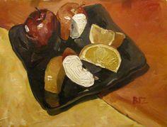 Fruit Still Life by BizBoston.deviantart.com on @DeviantArt