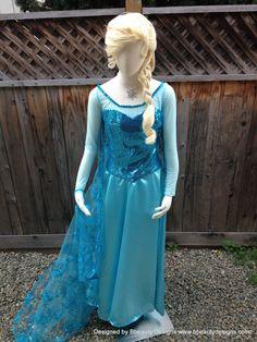 Elsa Frozen Sparkly Snow Queen Version C Adult par BbeautyDesigns