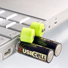 USBCELL AA Rechargeable Batteries work just like normal rechargeable batteries–but simply pop off the lid to recharge by any powered USB Port. Ideal for use with wireless mice, keyboards, game controllers, and other household products with no need to carry or find a separate charger. Easily rechargeable on the go, in the office or at [...]