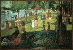 'Study for Sunday Afternoon on La Grande Jatte' by Georges Seurat