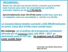 PROYECTO DE PARTIDO (AJS) ANTONIO JOSE DE SUCRE.: Propuesta (AJS) Contractual Docente (2016) - (2017...