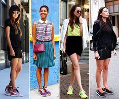 Girls looking HOT in Sneakers :>