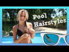 Pool Hairstyles | Beach Hairstyles | How to Make a Top Knot Messy Bun- Summer Hairstyles by Shannon ~ jrzgirlz - http://www.youtube.com/subscription_center?add_user=jrzgirlz