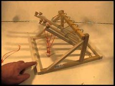 The MultiPult - Five Shot Catapult - YouTube