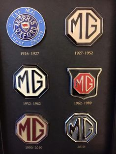 MG badges - I literally didn't know they named the company for me  when I bought mine new...