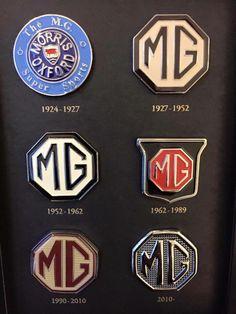 MG badges