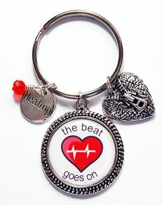 You ought to start on a healthy way of life to have a healthier heart. Fresh air and sunlight each day, in conjunction with working out, will get you on the right track. You'll feel better overall and your heart will become much healthier. Heart Attack Recovery, Causes Of Heart Attack, Heart Keyring, Surgery Recovery, American Heart Association, Split Ring, Silver Charms, Beats, Personalized Items