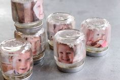 DIY: Photo Snowglobes