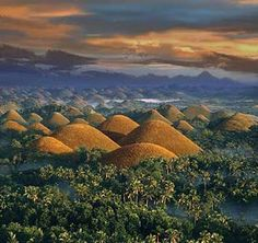 Easy Travels and Leisure: Natural Wonders of the World - Chocolate Hills in Bohol, Philippines