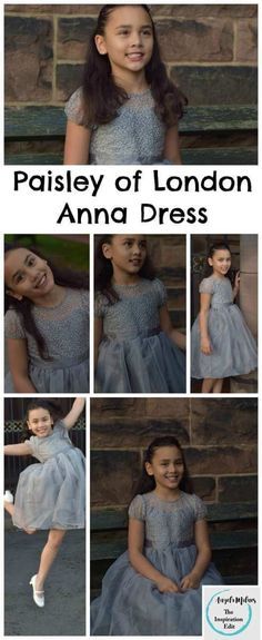 Paisley of London Anna Dress - by Roco Clothing  -  Girls Dress, Kids Fashion, Girls Fashion, Wedding outfits for kids, prom dress, formal wear for kids