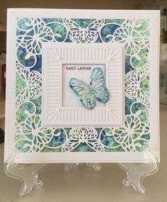 Butterfly Frame and Pixie Powder